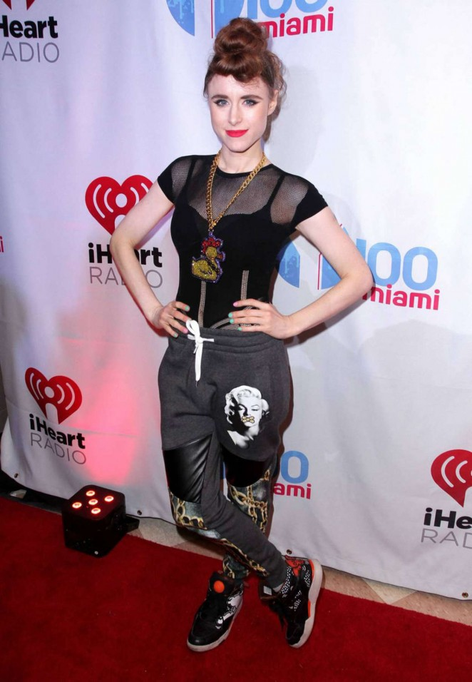 Kiesza - Y100's Jingle Ball 2014 in Miami