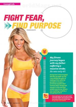 Kim Dolan Leto: Womens Fitness Australia -02