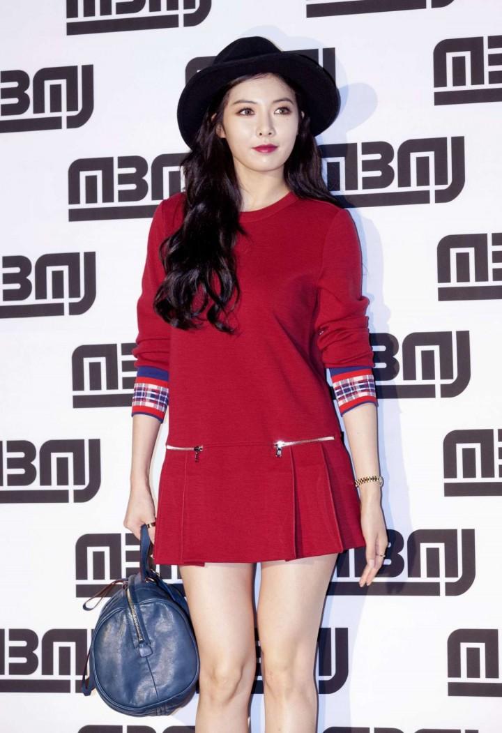 Kim Hyuna - Marc Jacobs F/W 2014 Fashion Show Event in Seoul, South Korea