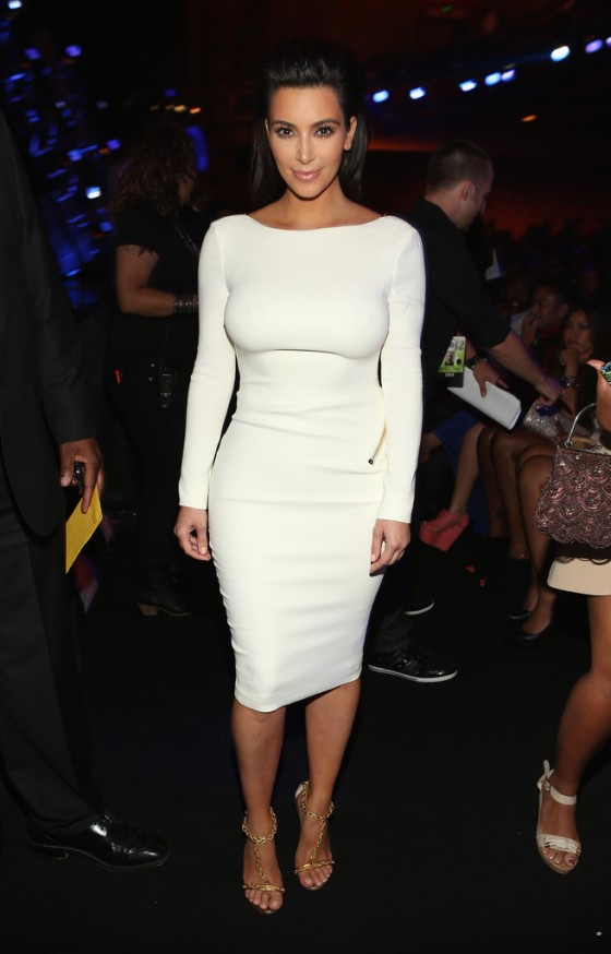Kim Kardashian – 2012 BET Awards-07