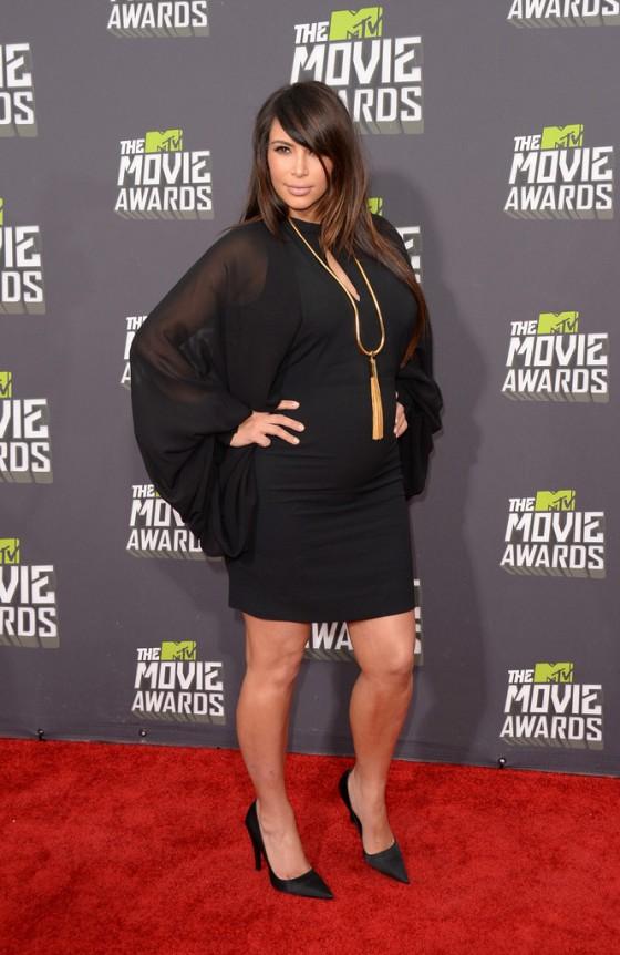 Kim Kardashian – 2013 MTV Movie Awards in Culver City
