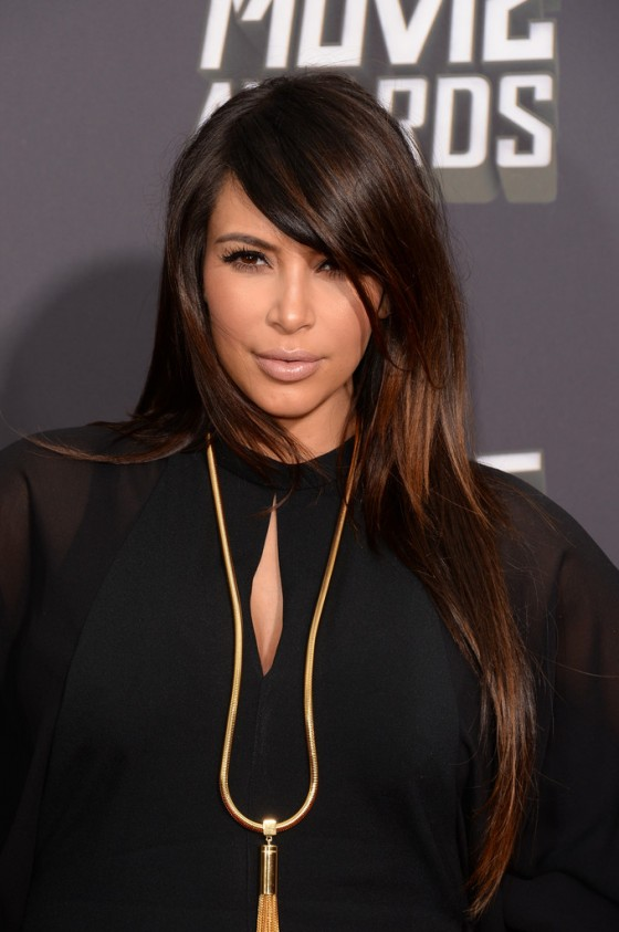 Kim Kardashian - 2013 MTV Movie Awards -05
