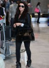 Kim Kardashian at Charles de Gaule Airport in France-12