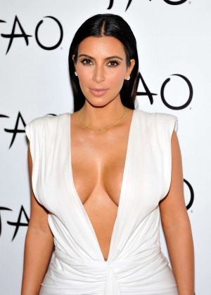Kim Kardashian 2014 her birthday party at Tao Nightclub in Vegas