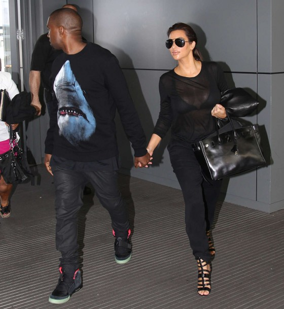 Kim Kardashian and Her Boyfriend -08