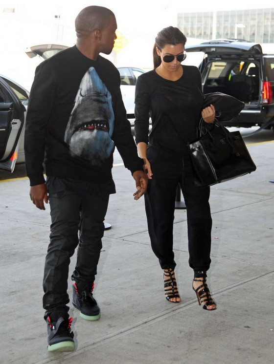 Kim Kardashian and Her Boyfriend -10