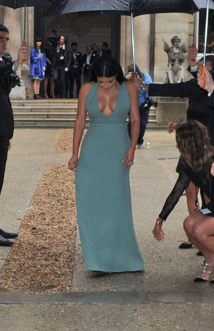 Kim Kardashian Hot Photos: Fashin Week 2014-01