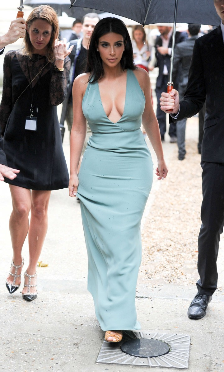Kim Kardashian Hot Photos Fashin Week 2014 05 Gotceleb