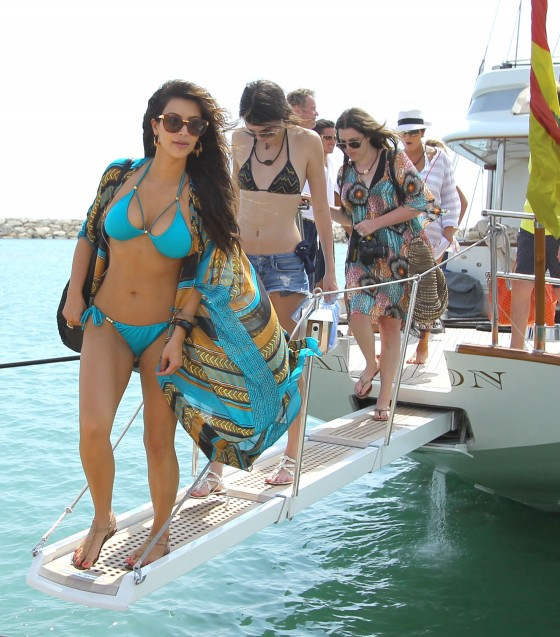 Kim Kardashian – bikini in Dominican Republic -25