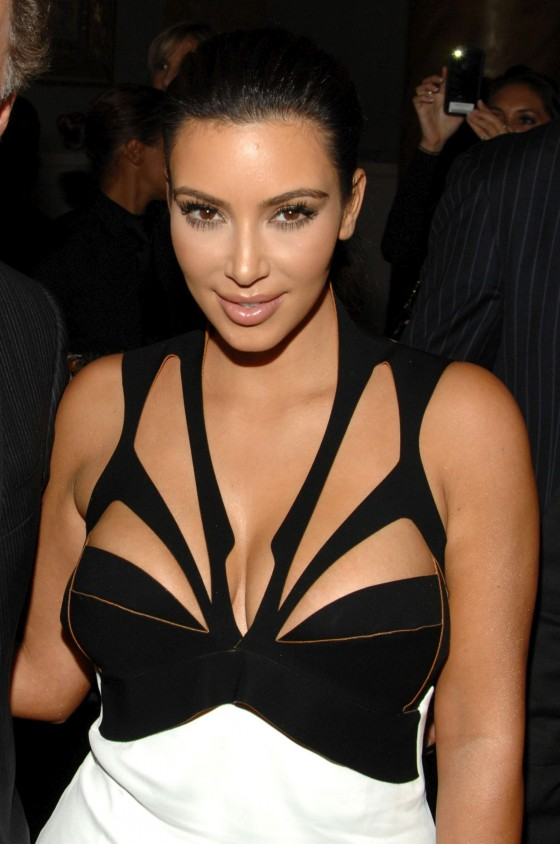 Kim Kardashian - Brian Atwood Party in New York