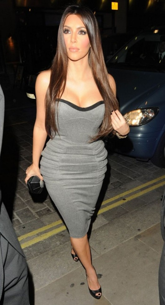 Kim Kardashian at Soho hotel
