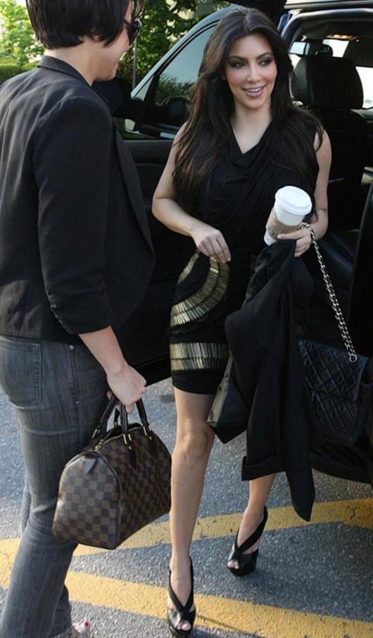 Kim Kardashian candids in Mississauga