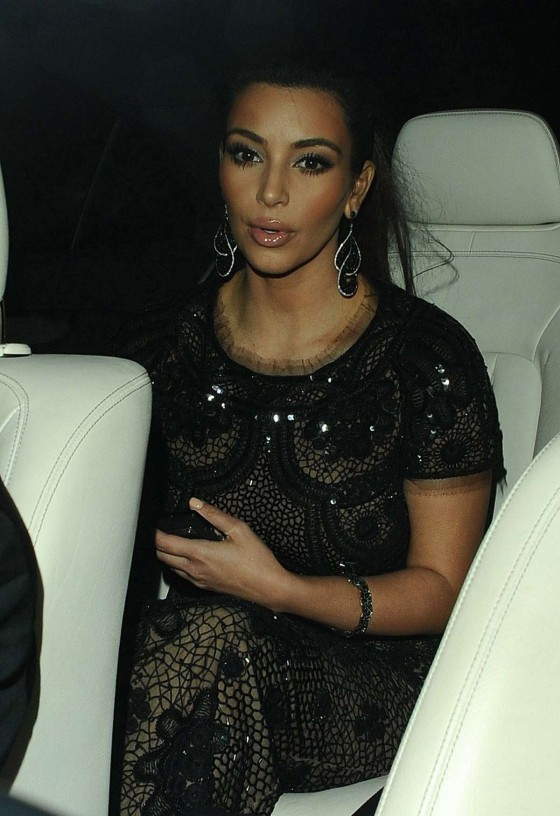 Kim Kardashian – Cannes 2012 – Sean Combs Yacht Party