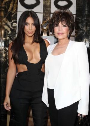 Kim Kardashian: Cassandra Huysentruyt Grey Hosts Artist -09