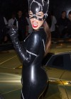 Kim Kardashian - Cat Woman Costume at 2012 Halloween Birthday Bash At LIV Nightclub in Florida