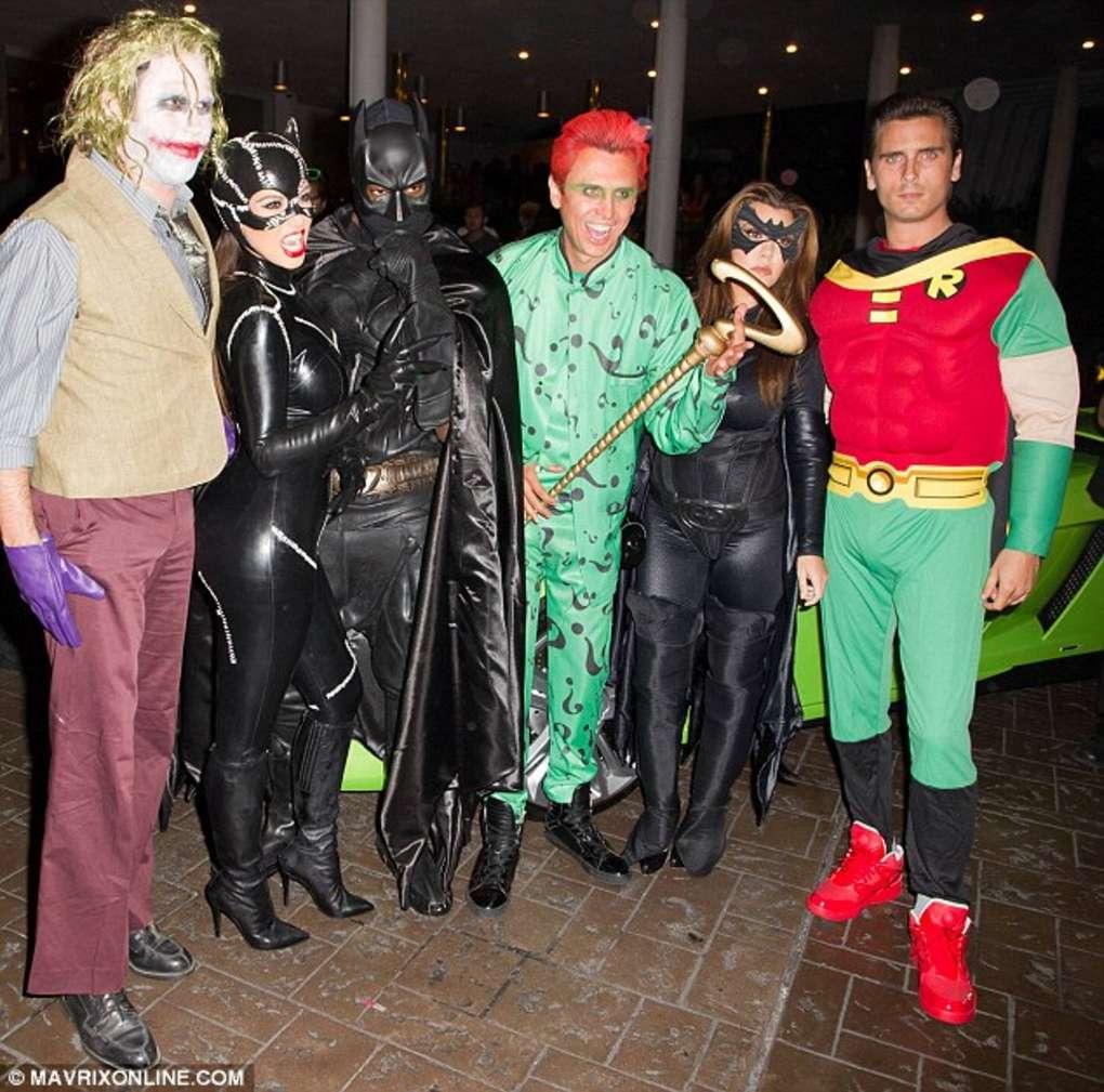 Kim Kardashian - Cat Woman Costume at Halloween Party-18 - GotCeleb