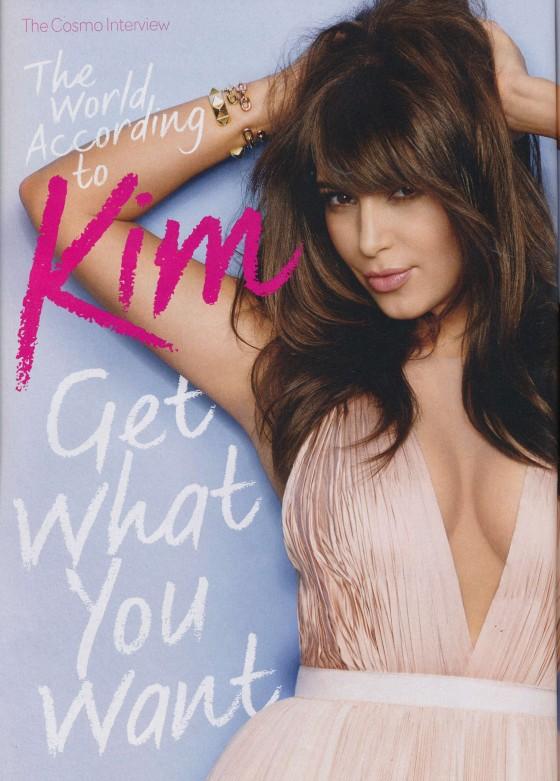 Kim Kardashian – Cosmopolitan Magazine -02