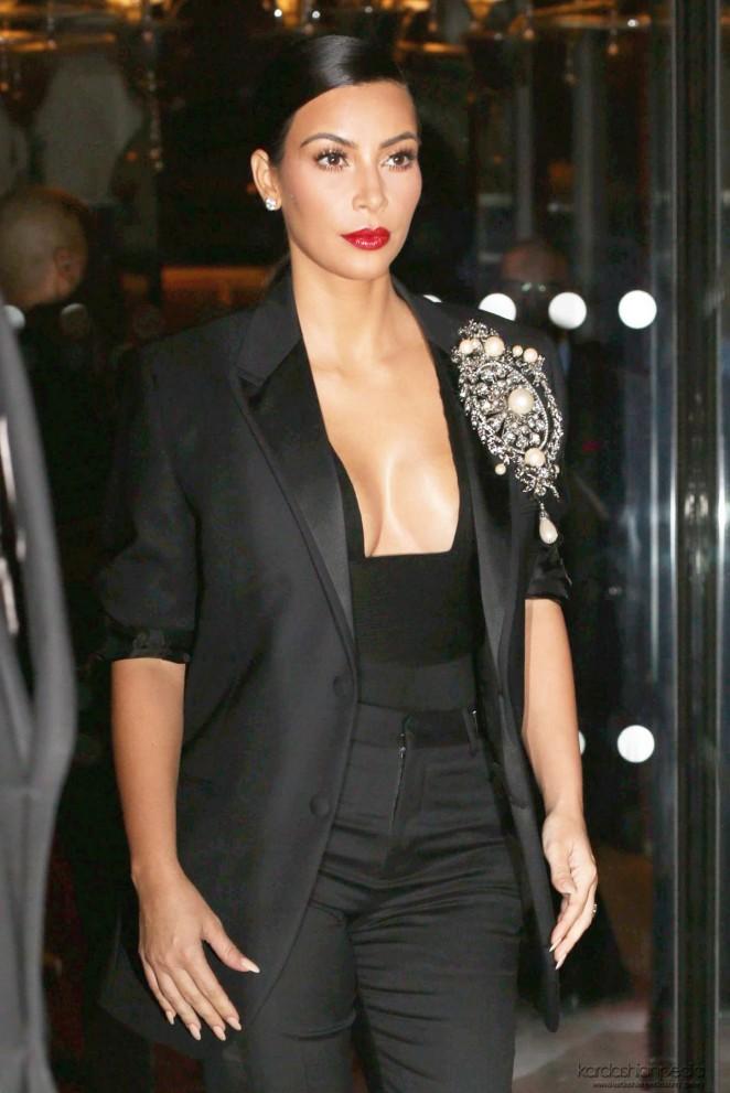 Kim Kardashian - CR Fashion Book Issue N°5 Launch Party in Paris