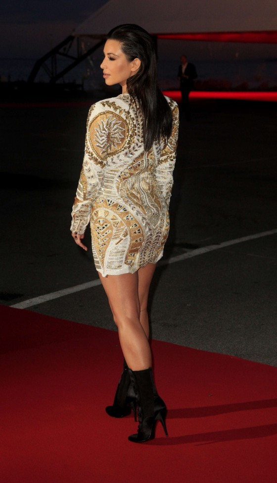 Kim Kardashian Hot Photos in a dress-15