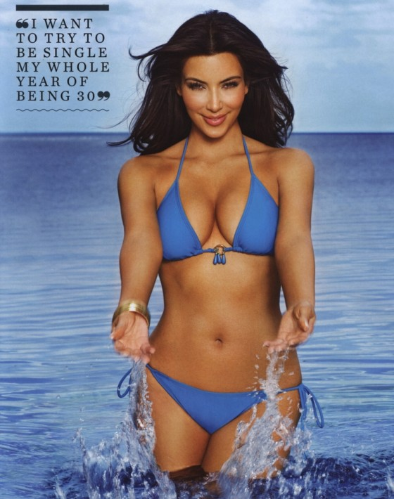Kim Kardashian – FHM Magazine Australia (April 2011)