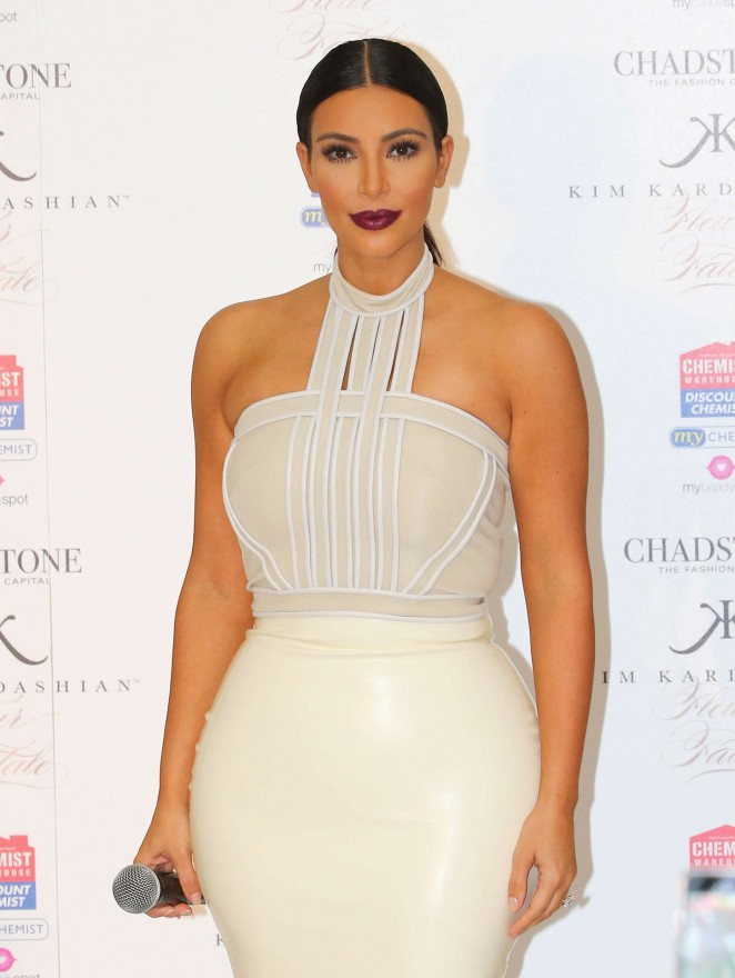 Kim Kardashian - 'Fleur Fatale' Fragrance Launch in Melbourne
