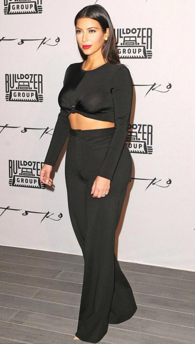 "Kim Kardashian - ""Fleur Fatale"" Perfume Launch in Dubai"