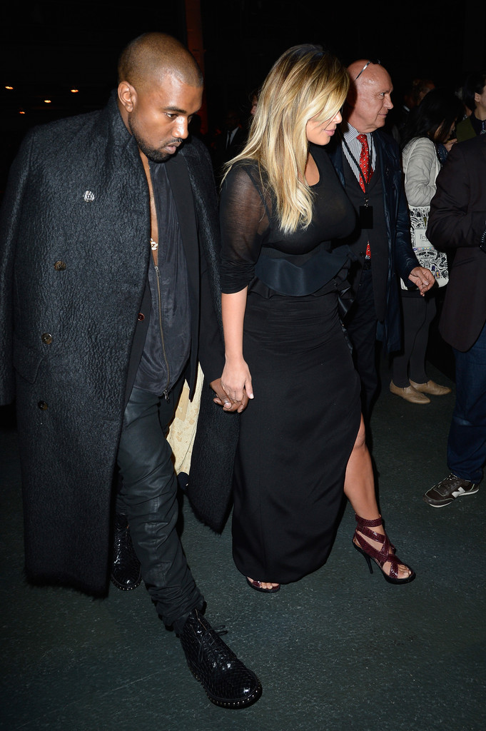 Kim Kardashian Fashion Show 2013 In Paris 07 Gotceleb