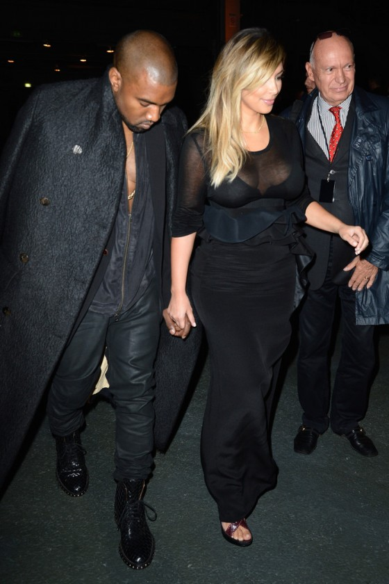 Kim Kardashian Fashion Show 2013 In Paris 11 Gotceleb