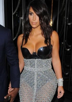 Kim Kardashian - 2014 GQ Men of the Year Awards in London