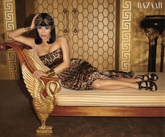 Kim Kardashian – Harper's Bazaar's Magazine March 2011