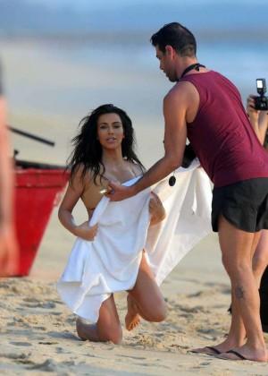 Kim Kardashian: Bikini Photoshoot 2014 -03