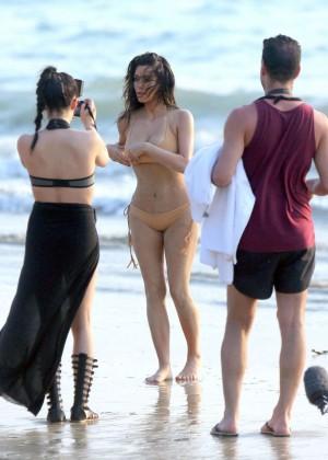 Kim Kardashian: Bikini Photoshoot 2014 -04