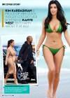 Kim Kardashian in Green and Pink Bikinis for OK Magazine