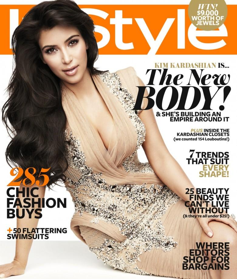 Kim Kardashian Instyle Magazine Australia November 2011 Gotceleb