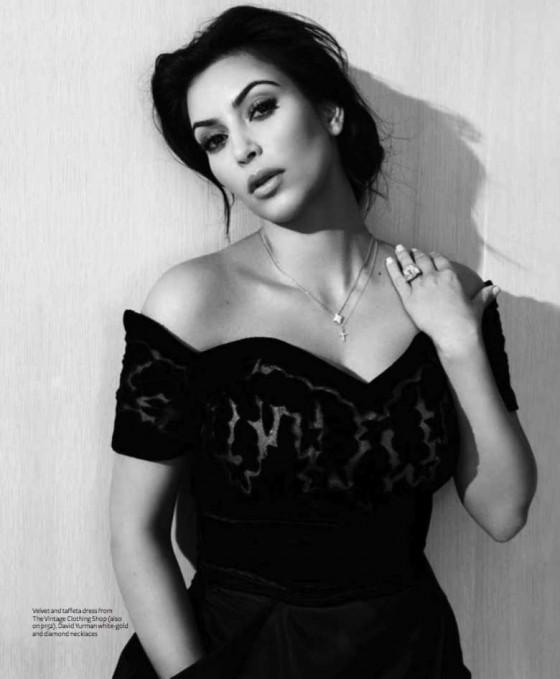 Kim Kardashian Instyle Magazine Australia 02 Gotceleb