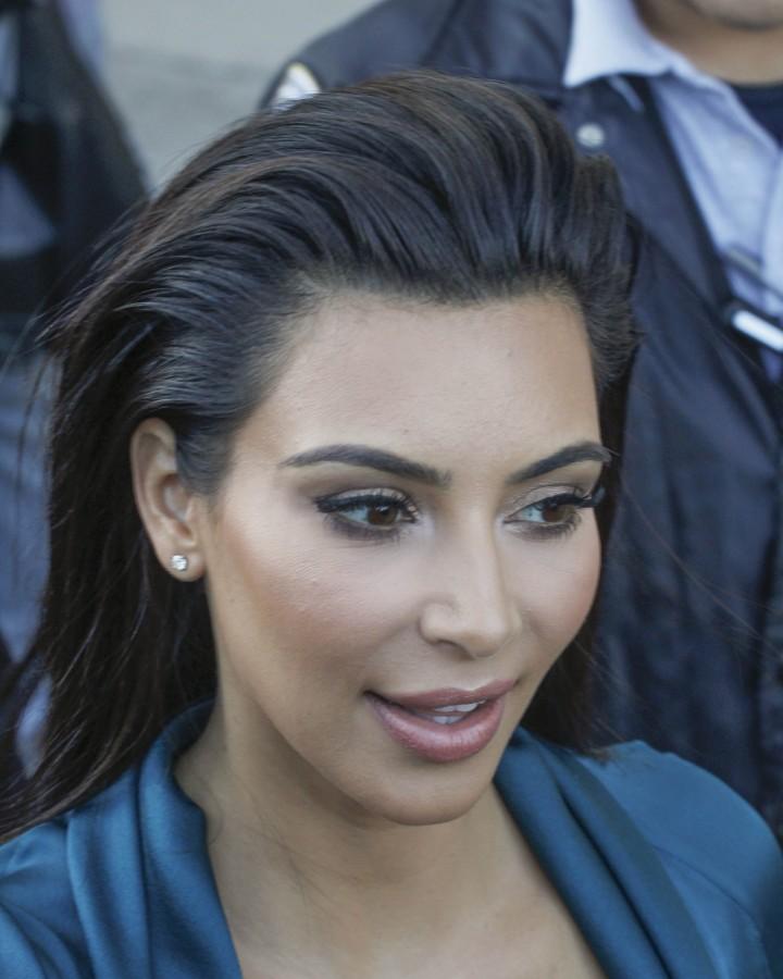 Kim Kardashian 2014 : Kim Kardashian: Jimmy Kimmel Live -08