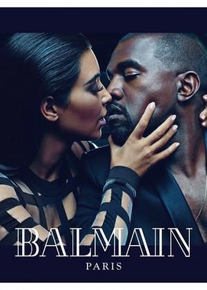 Kim Kardashian & Kanye West - Balmain Campaign (Spring/Summer 2015)