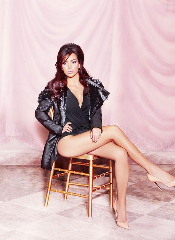 Kim, Kourtney & Khloe Kardashian - Kardashian Kollection for Lipsy London Fall/Winter 2014 Photoshoot