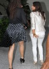 Kim Kardashian, Kourtney and Khloe Kardashian at Bal Harbour Mall in Miami