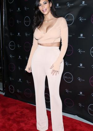 Kim Kardashian - Kylie Hair Kouture Launch in Beverly Hills