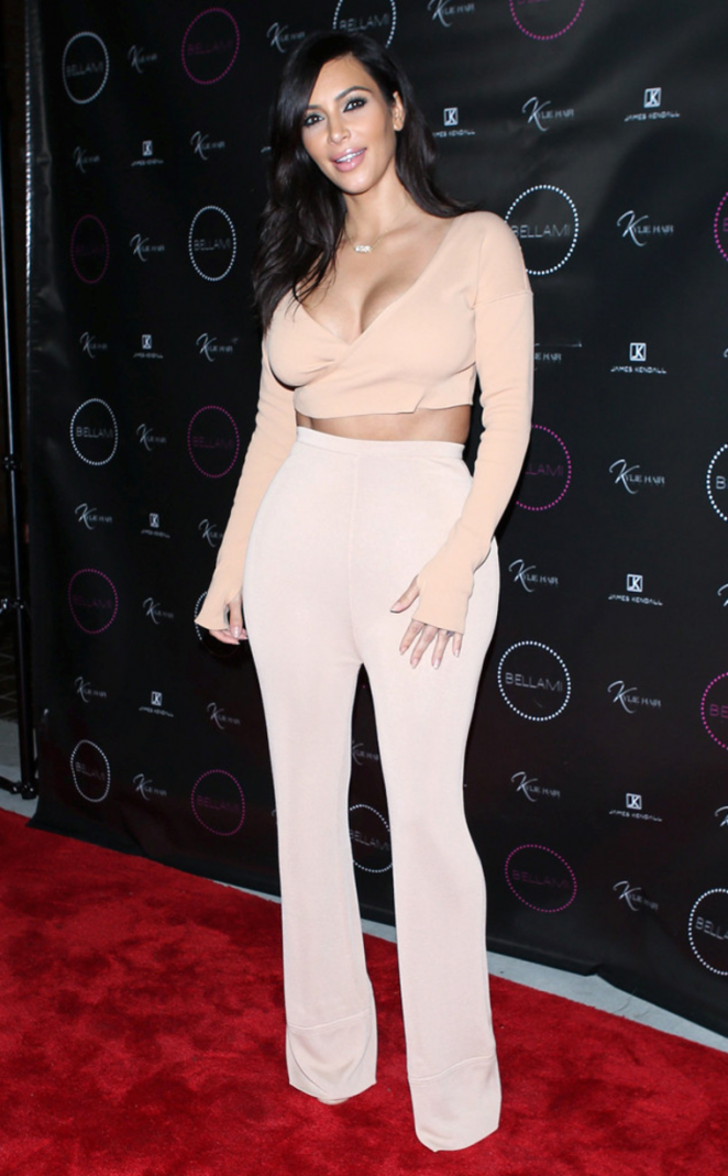 Kim Kardashian – Kylie Hair Kouture Launch in Beverly Hills