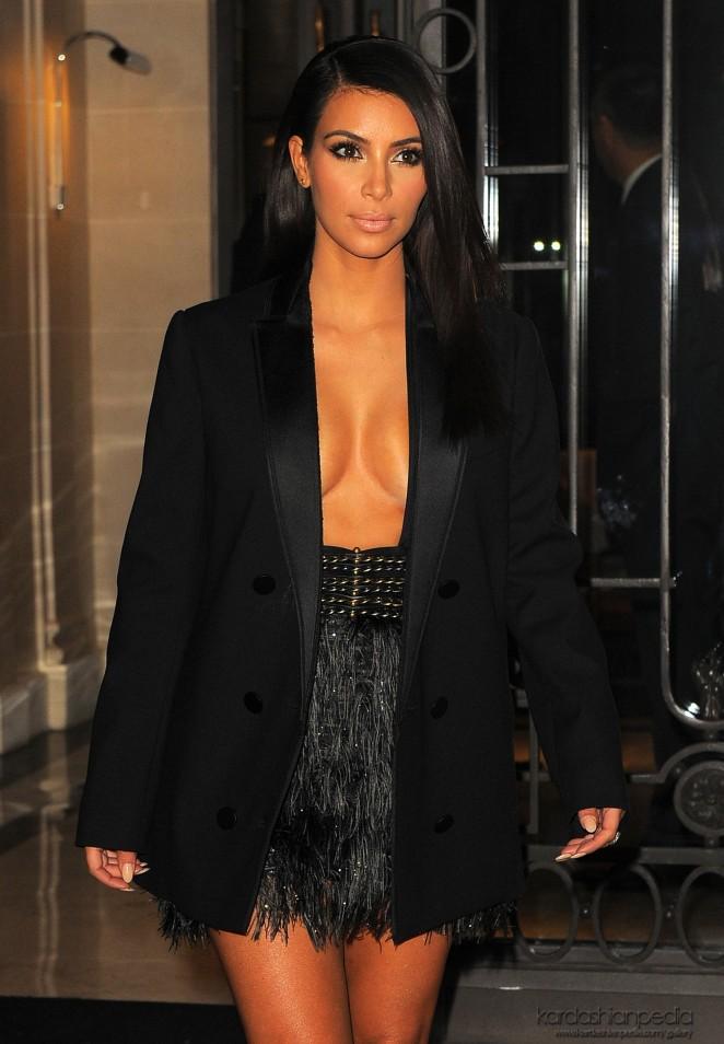 Kim Kardashian Lanvin Ss 2015 Pfs 17 Gotceleb