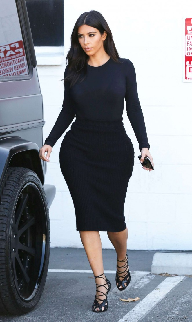 Kim Kardashian – Leaving Bunim/Murray Production Offices in Van Nuys