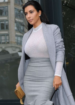 Kim Kardashian - Leaving Cipriani Downtown in NYC