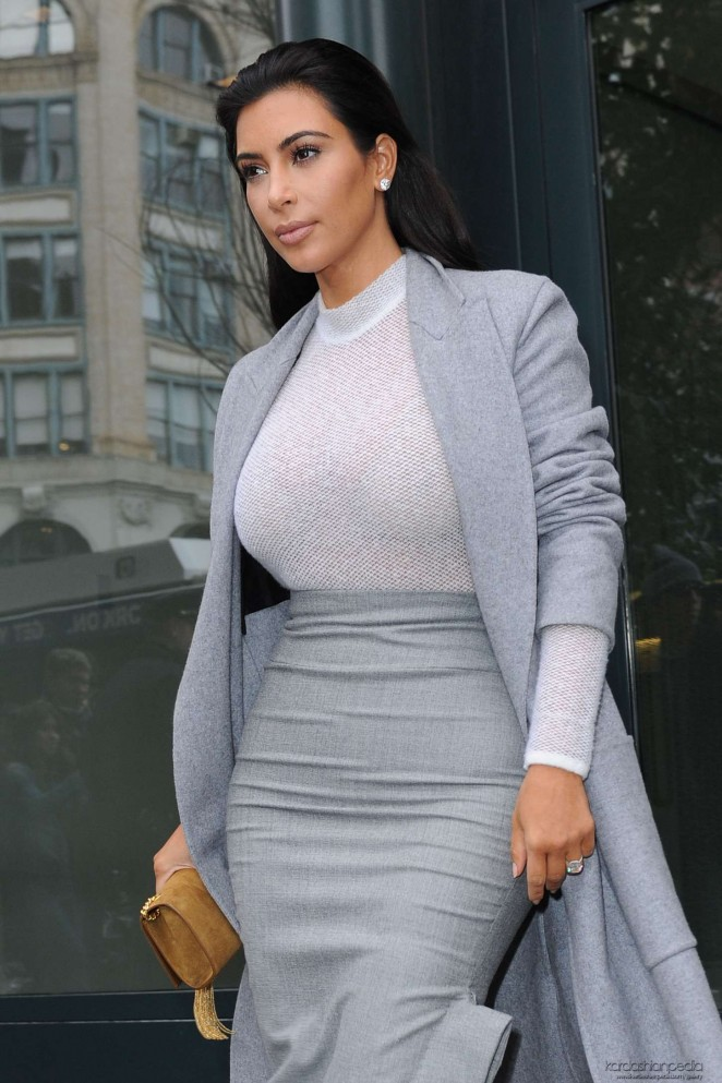 Kim Kardashian - Leaving Cipriani Downtown in NYC