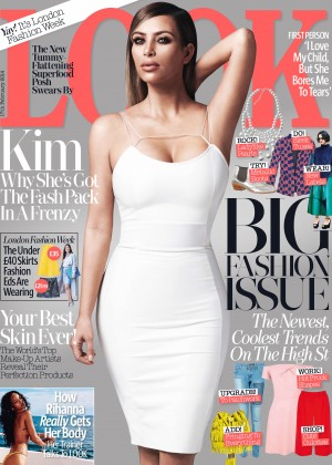 Kim Kardashian: Look UK Cover -01