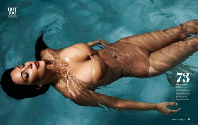 Kim Kardashian - Maxim India (November 2014)