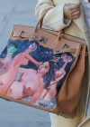 Kim Kardashian new handpainted Birkin bag -02