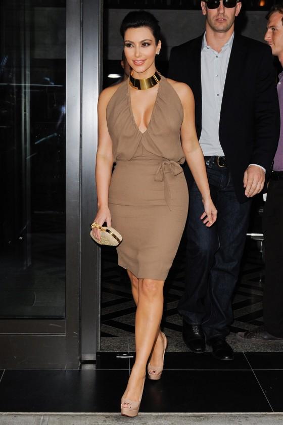 Kim Kardashian – New York Candids