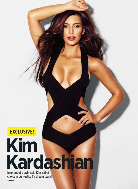 Kim Kardashian – Nuts  UK Magazine (September 2012)